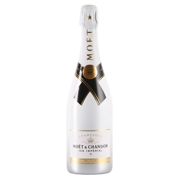 Champagne Moet & Chandon Ice Imperial is the first sparkling wine meant to be served on ice