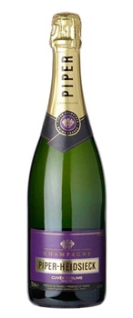 Champagne Piper-Heidsieck Cuvee Sublime offers abundant fruit flavors