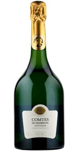 Champagne Taittinger 2006 Comtes de Champagne Blanc de Blancs is great paired with seafood