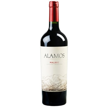 Alamos 2014 Malbec has flavors of plum and dark cherry