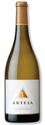 Artesa 2011 Carneros Chardonnay is aged half in stainless steel and half in oak barrels