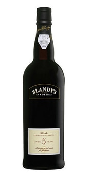Blandy's 5-Year-Old Bual Madeira has flavors of fig and honey