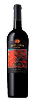 Brian Carter Cellars 2011 Le Coursier has aromas of blackberry, cherry and plum