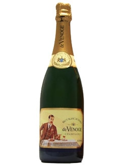Champagne de Venoge Blanc de Noirs, one of our Top 10 Father's Day Wines