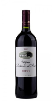 Château Patache d'Aux 2009 Médoc is a robust red wine with notes of cherry and black currant