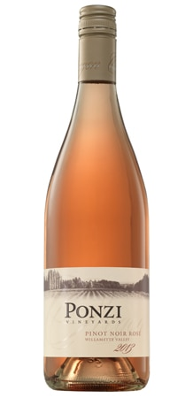 Ponzi Vineyards 2013 Pinot Noir Rose displays tropical fruit and melon aromas on the nose