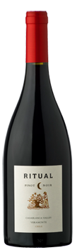 Ritual 2015 Pinot Noir has bright fruit flavors