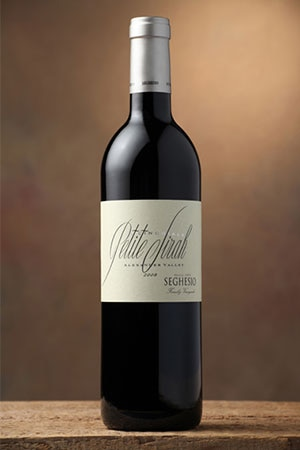 Seghesio 2010 Il Cinghiale Petite Sirah displays fragrant aromas, rich black fruit flavors and firm tannins