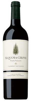 Sequoia Grove 2009 Napa Valley Cabernet Sauvignon, one of GAYOT's Top 10 Father's Day Wines 2013