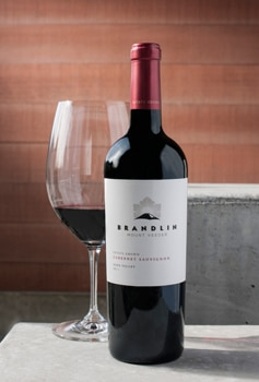 The Brandlin Estate 2011 Cabernet Sauvignon is one of GAYOT's Top 10 Holiday Wines 2014 and an impressive wine worthy of any celebration
