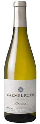 Carmel Road 2012 Liberated Riesling is produced in one of California's coldest wine regions