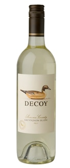 Decoy 2011 Sonoma County Sauvignon Blanc is fermented in stainless steel