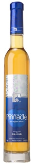 Domaine Pinnacle Ice Apple Wine is made from more than 80 apples picked after the first frost
