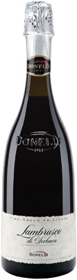 Donelli Lambrusco di Sorbara pairs well with tortellini or simple roasts