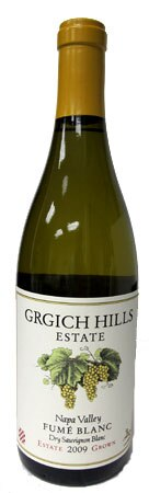 The 2009 Grgich Hills Estate Fumé Blanc Napa Valley is crisp and elegant and one of our choices for Top 10 Holiday Wines