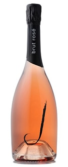 A bottle of J Brut Rose, one of our Top 10 Holiday Wines 2011
