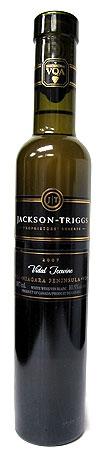 The Jackson-Triggs 2007 Proprietors' Reserve Vidal Icewine offers the finishing touch for a rich holiday meal