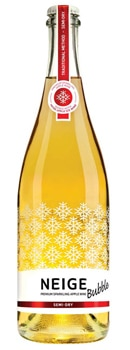 A glass of Neige Bubble a day will keep the doctor, and cold weather, away