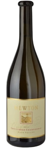 Newton 2013 Unfiltered Chardonnay has bounteous fruit flavors