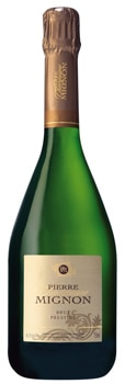 Pierre Mignon Brut Prestige is a dry and zesty sparkler that pairs well with holiday dinner