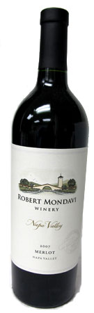 Our list of Top 10 Holiday Wines features the 2007 Robert Mondavi Winery Merlot