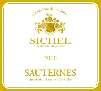 The impressive Sichel 2010 Sauternes is a certified holiday hit