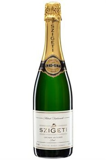 Szigeti Gruner Veltliner Brut is made in Burgenland, Austria