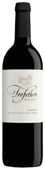 Trefethen 2009 Merlot is produced in the Oak Knoll District of Napa Valley