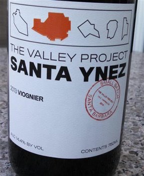 The 2013 Valley Project Viognier