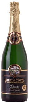 A bottle of Wilson Creek Almond Champagne, one of our Top 10 Holiday Wines 2011