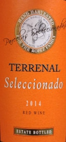 The 2014 Terrenal Seleccionado is a Spanish Kosher wine sold at Trader Joe's