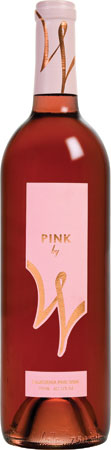 Weinstock Cellars 2009 Pink by W provides pomegranite and cherry notes in a charming rose