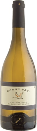 The Goose Bay 2012 South Island Sauvignon Blanc surprises with cut grass and gooseberry aromas