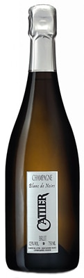 Champagne Cattier Brut Blanc de Noirs is composed of 70 percent Pinot Noir and 30 percent Pinot Meunier