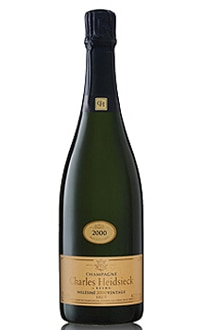 Champagne Charles Heidsieck 2000 Brut Vintage offers a pleasantly floral bouquet