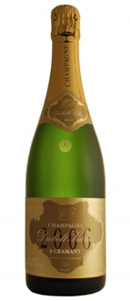 Champagne Diebolt-Vallois 2006 Blanc de Blancs features flavors of pear and apricot with a hint of nutmeg