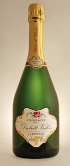 A bottle of Champagne Diebolt-Vallois Blanc de Blancs Prestige, one of our Top Mid-Range Champagnes
