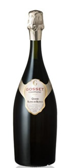 Gosset Grand Blanc de Blancs Brut NV pairs well with seafood and is one of GAYOT.com's Top 10 Mid-Range Champagnes