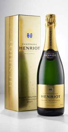 Champagne Henriot Blanc Souverain, one of our Top Mid-Range Champagnes