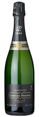 Champagne Laurent-Perrier Brut Millesime 2004, one of our Top 10 Mid-Range Champagnes, reveals a fine texture and yellow plum flavors