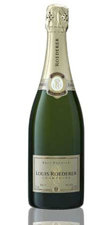 Louis Roederer Brut Premier is a good accompaniment to fine cuisine