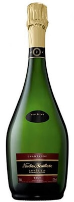 Champagne Nicolas Feuillatte Cuvee 225 Vintage 2005 is named for the size of the barrel (225 liters) in which it was fermented