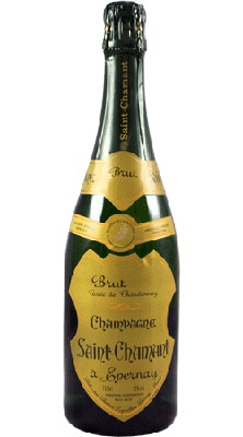 Champagne Saint-Chamant 2004 Brut Blanc de Blancs pairs well with steamed mussels or fresh, white fish