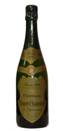 Saint-Chamant 1999 Millesime Brut Blanc De Blancs is a good mid-range Champagne that pairs well with seafood