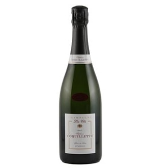 Champagne Stephane Coquillette NV Cuvee Les Cles Blanc de Noirs Brut boasts a long, lingering finish