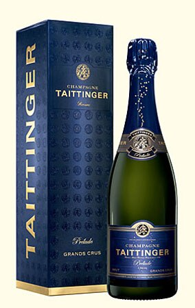 Taittinger Prelude N.V., one of our Top Mid-Range Champagnes