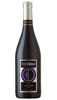 Ecco Domani 2008 Sicilia Pinot Noir, one of our Top 10 Mother's Day Wines
