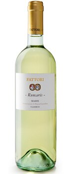 Fattori 2010 Runcaris Soave Classico DOC pairs well with raw fish or seafood