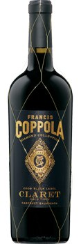 Francis Coppola Diamond Collection 2009 Claret Cabernet Sauvignon is a blend of traditional Bordeaux varietals