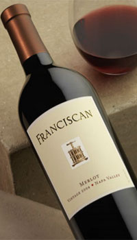 Franciscan Estate 2006 Napa Valley Merlot, one of our Top 10 Mother's Day Wines